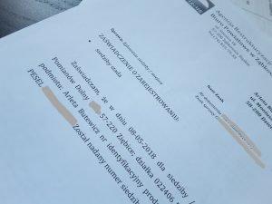 rejestracja stada, dokumenty armir