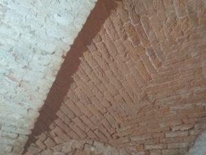 efekt po piaskowaniu, cegły