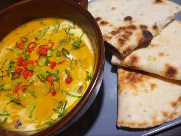 curry, dynia, dynia Rouge vif d'etampes, gotowanie, z polskiej wsi, nan